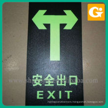 Sand Texture Quality Control Sticker Removable Floor Decal