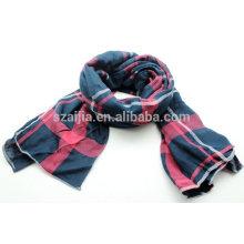 Lenço de seda da manta da beira do algodão da forma 100