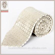 Lazo al por mayor de los chirstmas del diseñador de la seda del lazo de seda de la guarnición de las lanas