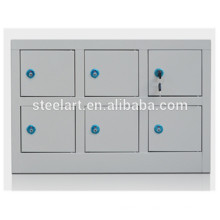 School use cell phone storage cabinet with charge power