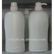 loção garrafa com bomba / PE garrafas para shampoo, creme de banho embalagem