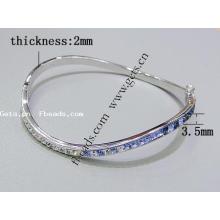 2015 Gets.com стерлингового серебра витой верхний браслет