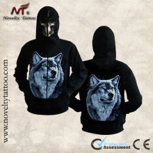 HM-100201 hoodie animal do lobo