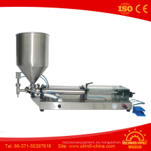Máquina de llenado de mantequilla de sésamo Relleno de salchicha de sésamo
