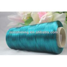Vente chaude de 250D / 50F BrightYarn Count All Corlors Viscose Filament Yarn