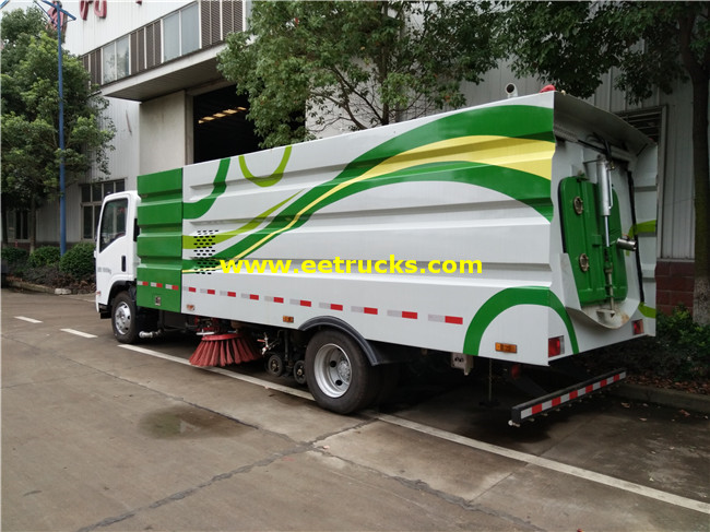 ISUZU 5000L Street Cleaning Trucks