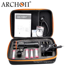 Archon 18650 Battery Video Diving Light 5200 Lumens with Ys Stand LED Diving Torch