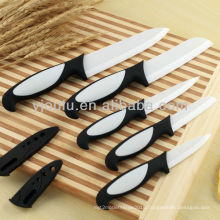 OL011 Ceramic Non Stick Knife With TPE Handle
