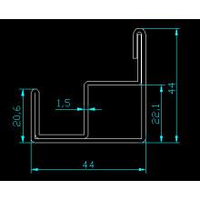 Armoire électrique armoire à neuf plateaux profilé 9 plis métal droit