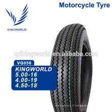 Taiwan Motorcycle Tire 3.75-19, 2.25-19 Tire de moto 3.75 19 Choix de qualité