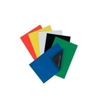 Сильный постоянный гибкий резиновый магнит с цветным ПВХ