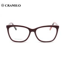 Marcos modificados para requisitos particulares de la lente de la lectura óptica del acetato de la moda
