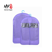 Personalised foldable design wedding dress suit packaging non woven garment bag