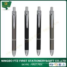 2015 New Design LED Light Metal Ball Pen