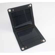 5W USB foldable PET mobile phone solar panel charger