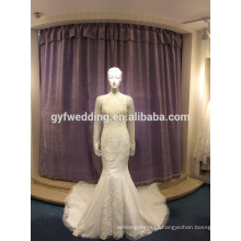 Wedding dress 2017 new Korean wedding bride wedding dress tail tattoo was thin thin trailing LJ-10026