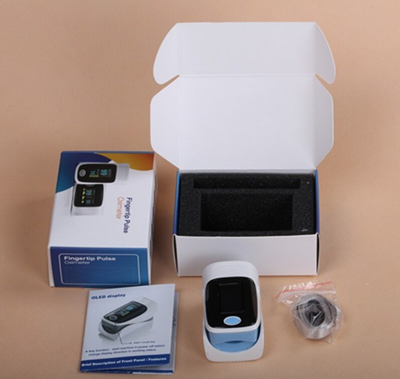 finger oximeter with ISO
