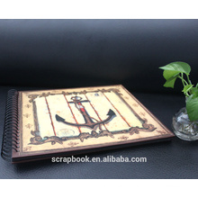 2015 mais novo papel handmade scrapbook estilo álbum de fotos de alibaba