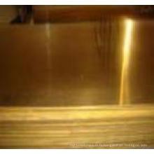 Plaque en laiton C22000 / C26000 / C27000 / C28000