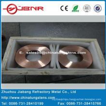 Tungsten Copper Block W70cu30 with ISO9001 From Zhuzhou Jiabang