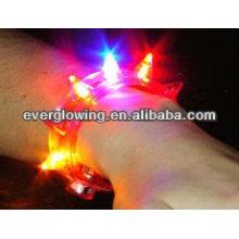 pulseira de flash led