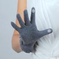 Knopf Design Damen Smartphone Touchscreen Wolle Handschuhe mit günstigen Preis