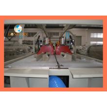 Ligne d'extrusion de double tuyau de drainage de PVC