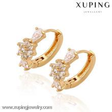 90063 Xuping мода высокого качества 18k позолоченный серьги