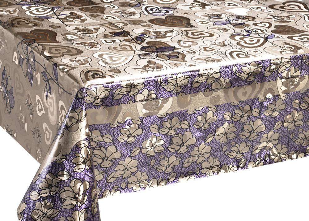 Double Face Gold Printed Tablecloth
