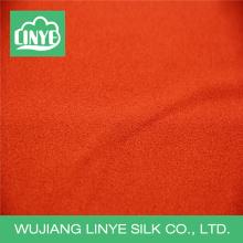 Tecido de 100 tecidos de poliéster e musgo para o vestido da senhora