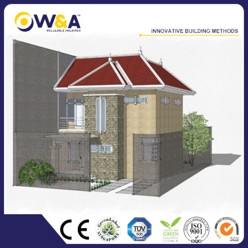 (WAD4001-100M)China Concrete Modular Homes and Prices Modular Homes Sale Prefabricated Townhouses