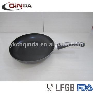 Casserole / casserole antiadhésive en aluminium avec cuisinière à induction