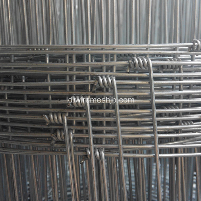 Hot-dip Galvanized Woven Field Fence