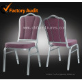 Stacking Aluminum Hotel Chair for Banquet and Wedding Hall (YC-ZL22)