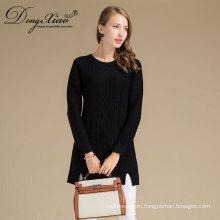 Китай Поставщик горячая Распродажа Глод Kniitted пуловер девушки необычные свитера с высоким качеством