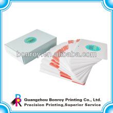 impressão em offset de cartas de baralho personalizadas / baralhos baratos