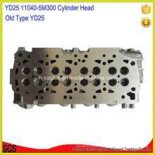 Amc 908 505 11040-5m000 11040-5m301 11040-5m302 Yd25 Головка блока цилиндров для Nissan
