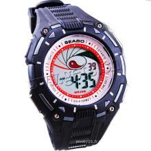 Gets.com plongeur de montre en silicone pour femme