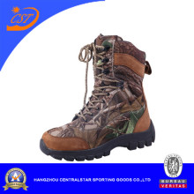 Fashion Top Layer Leather Ankle Military Boots Ab-10