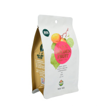 100% Natural Compostable Eco-Friendly Biodegradable Snack Nut Coffee Tea Tobacco Rice Packaging Bag Paper PLA Stand up Flat Bottom Bag