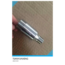 Forged Fittings Male Thread Stainless Steel F316L Swage Nipples