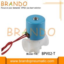 Válvula solenoide de dispensador de agua de plástico DN2.5mm 1/4 '' NPT