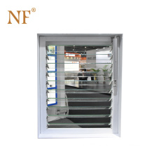 Favorable price of exterior glass louver window