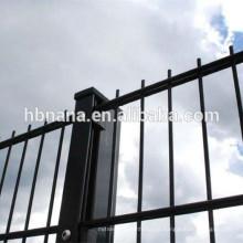 Fio soldado dobro 868/656 painel da cerca / rede de arame da barra do gêmeo