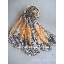 Polyester printed cheap muslim lady scarf