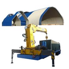 SX120-SUBM-600-305 k q span curve roof galvanized iron parking ground/area/lot arch roof building machine