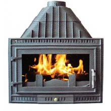 Inserte la estufa del hierro fundido (FIPA076), estufa de la inserción de madera
