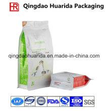 El embalaje flexible de encargo se levanta el bolso plástico del acondicionamiento de los alimentos del animal doméstico
