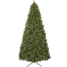 12 FT. Wesley Mixed Spruce Artificial Christmas Tree with 1800 Clear Lights (MY100.075)