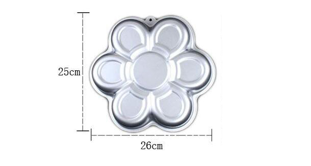 Flower-shaped Aluminum Cake Pan (5)